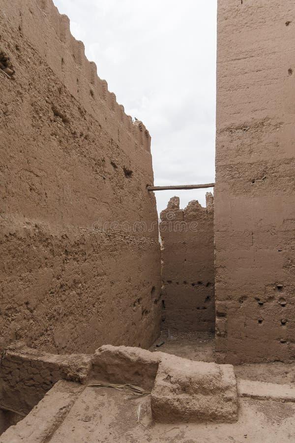 Kasbah au Maroc photo stock