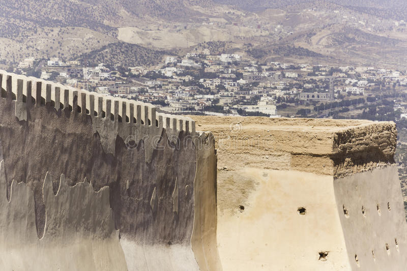 Kasbah de Agadir fotografía de archivo libre de regalías