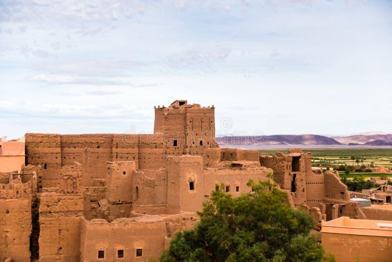 Kasbah de Taourirt en Ouarzazate, Marruecos imágenes de archivo libres de regalías