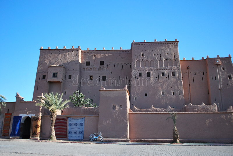 Kasbah di Ouarzazate immagini stock