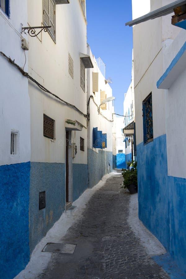 Kasbah do Udayas em Rabat, Marrocos imagens de stock