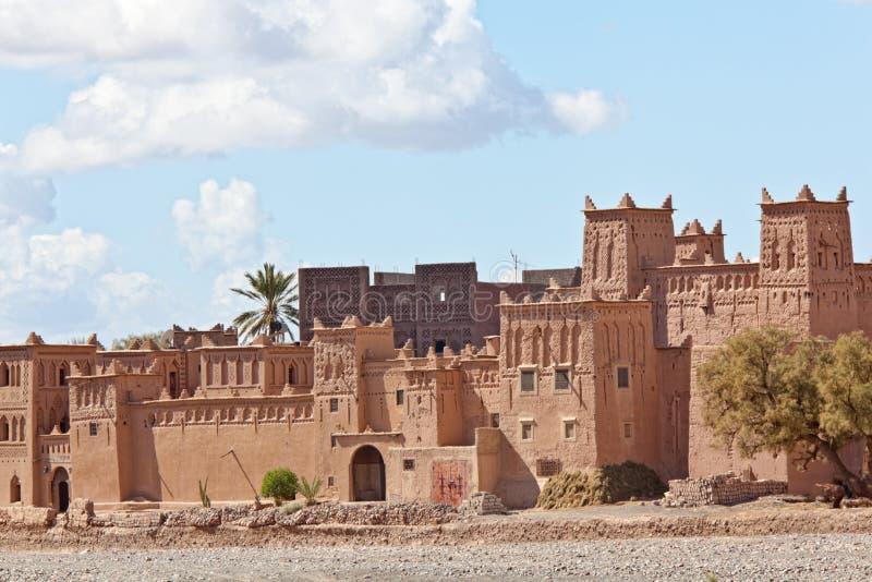 Kasbah em Ouarzazate fotos de stock