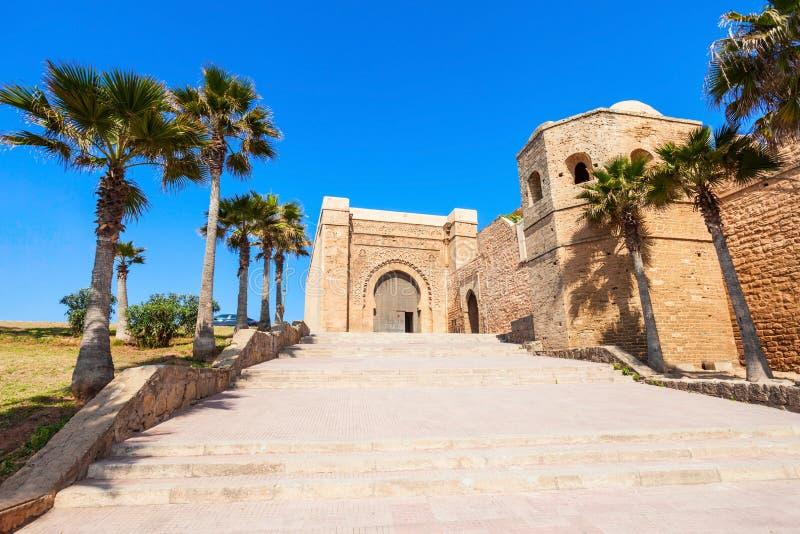 Kasbah em Rabat foto de stock royalty free