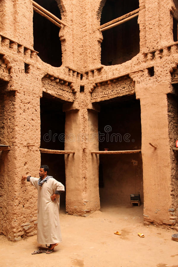 Download Kasbah interior editorial photo. Image of archeology - 24344331