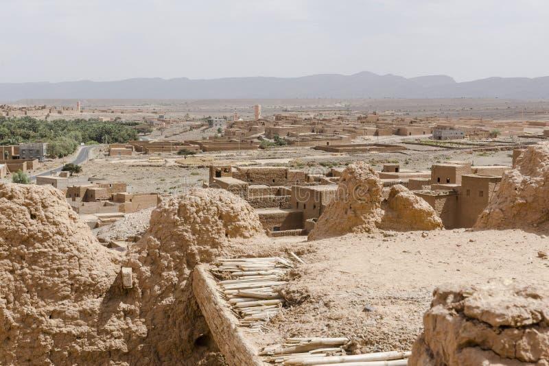 Kasbah in Marokko lizenzfreie stockfotos