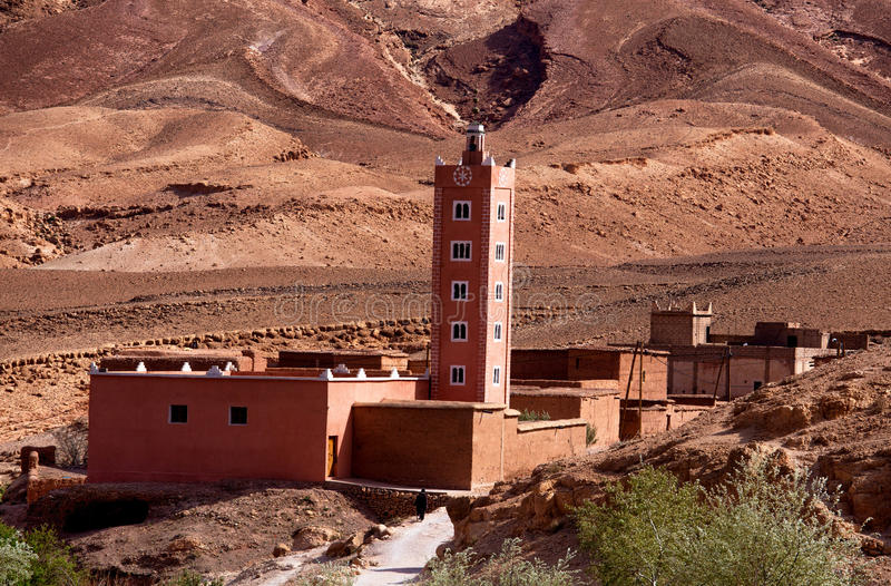 kasbah morocco arkivfoton