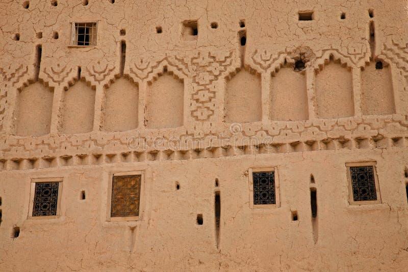 Kasbah nel ouarzazate immagine stock