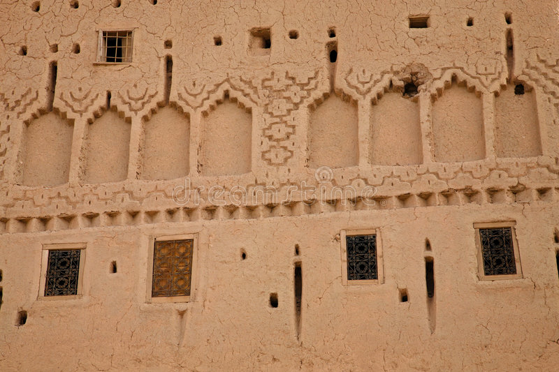 Kasbah in ouarzazate. Old Fort - the kasbah in ouarzazate stock image