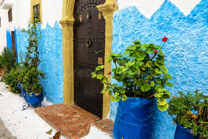 Kasbah Oudaia στη Rabat, Μαρόκο στοκ φωτογραφίες με δικαίωμα ελεύθερης χρήσης