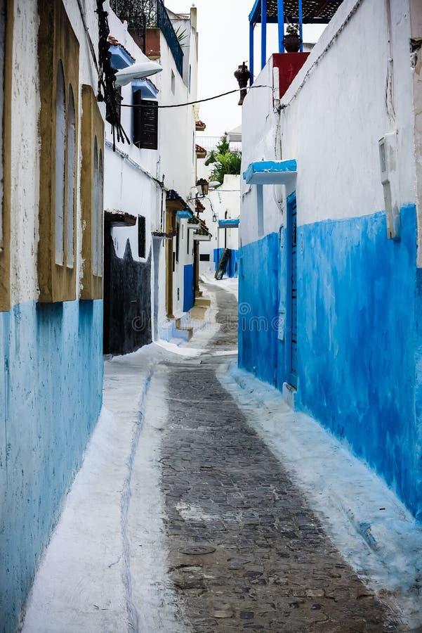 Kasbah Oudaia em Rabat, Marrocos imagem de stock