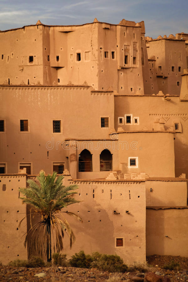 Kasbah Taourirt Ouarzazate morocco image libre de droits