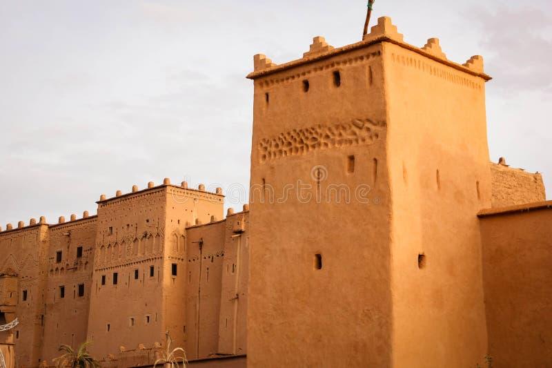 Kasbah Taourirt Ouarzazate morocco photos libres de droits