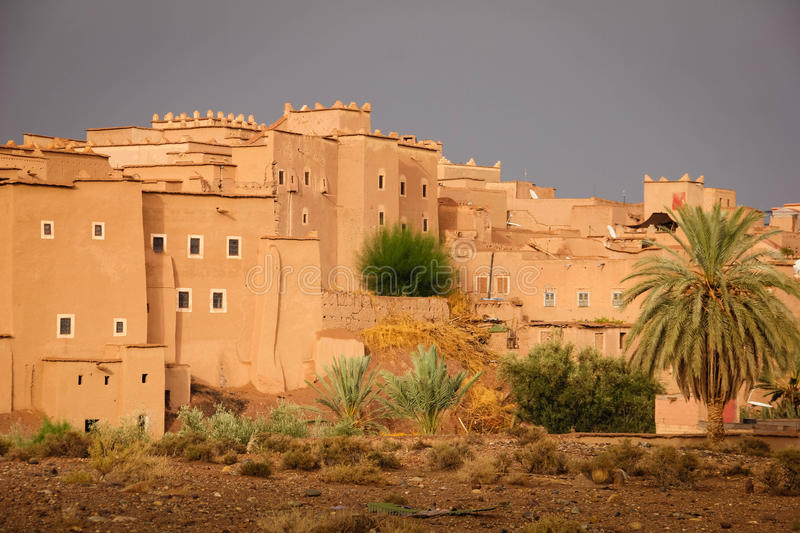 Kasbah Taourirt Ouarzazate morocco photographie stock