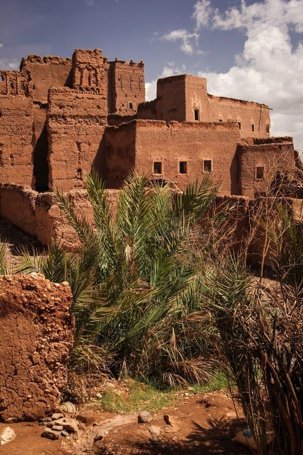 Kasbah Taourirt Ouarzazate morocco photos stock