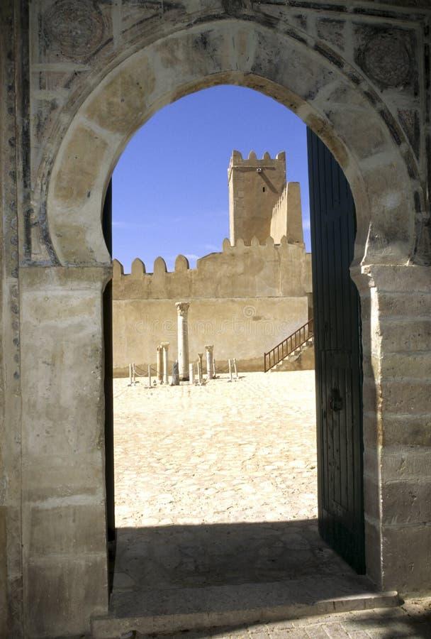 Kasbah- Tunesien stockfotografie