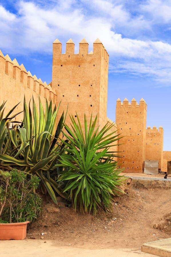 Kasbah of the Udayas, Rabat, Morocco stock image