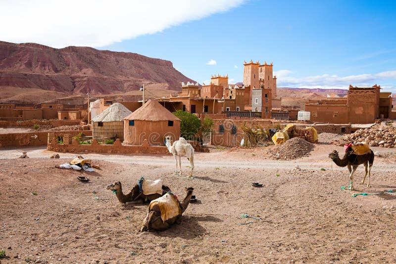 Kasbah w Maroko zdjęcie royalty free