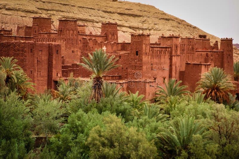 Kasbahait ben haddou marokko stock foto's