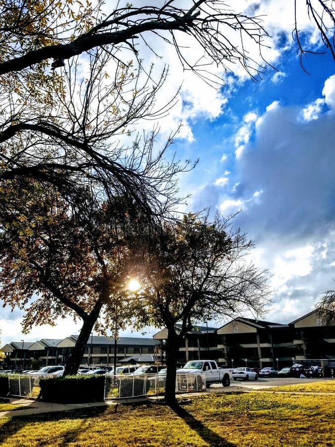 Kasernen bei Fort Hood lizenzfreies stockfoto