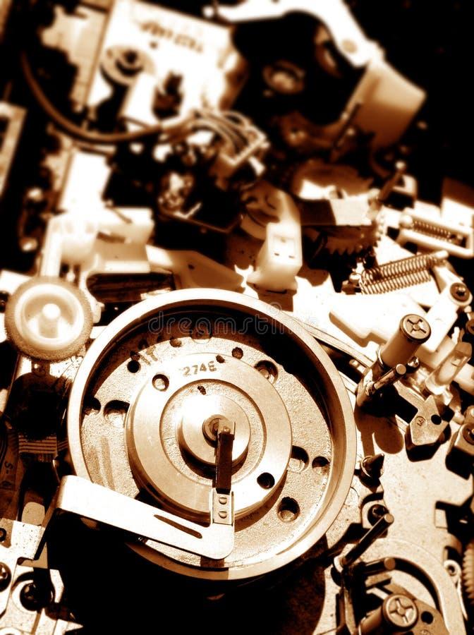 kaseta wideo rejestrator fotografia stock
