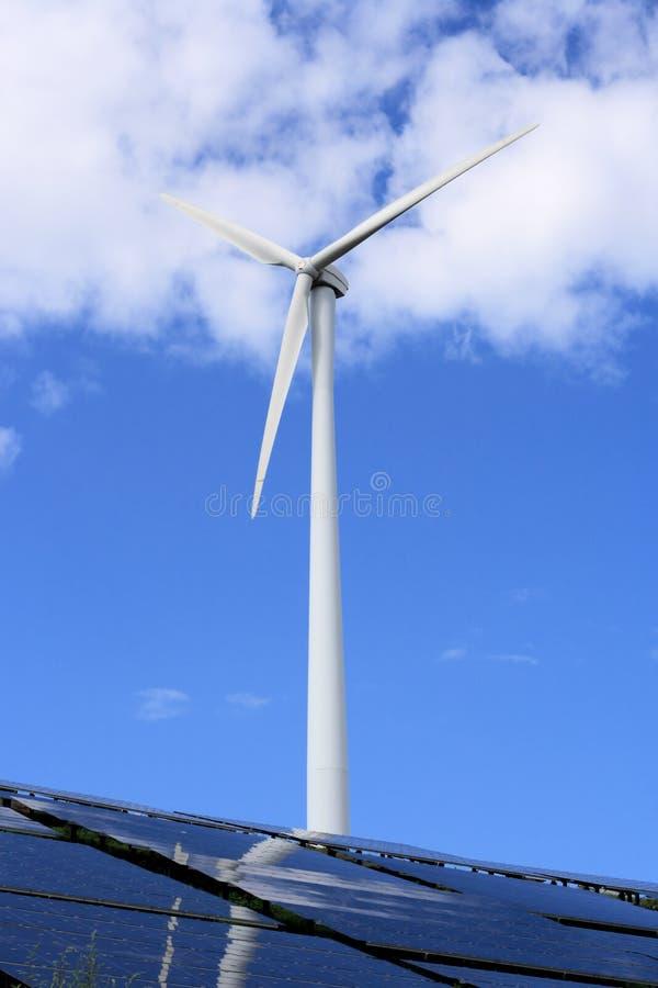 kasetonuje słonecznego wiatraczek obraz stock