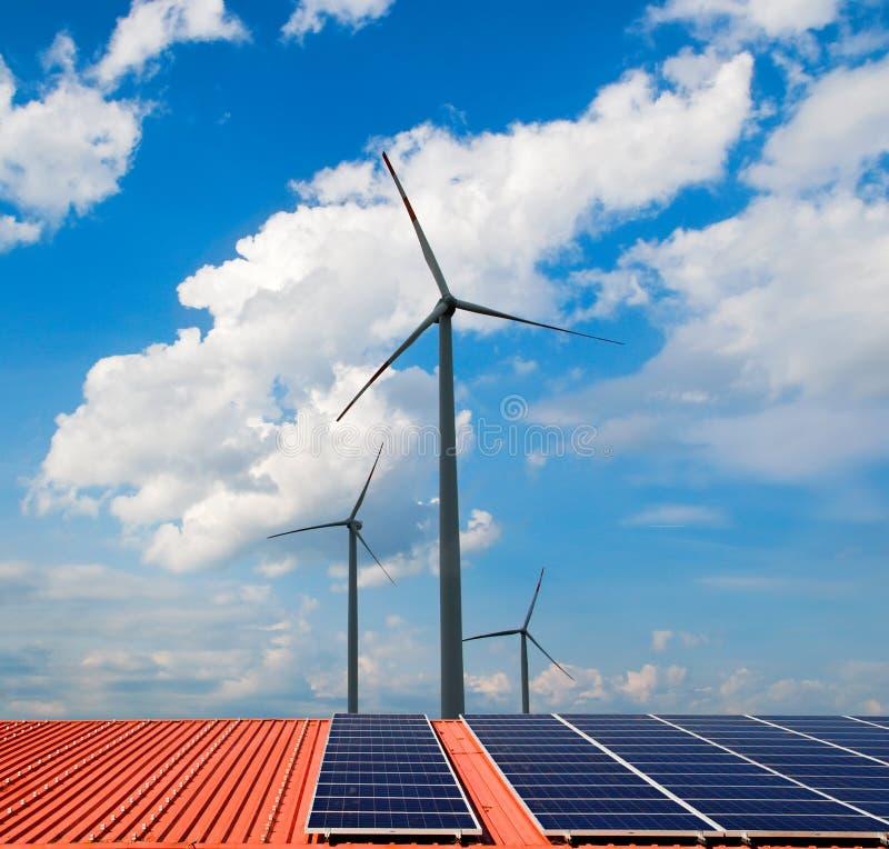 kasetonuje słonecznych wiatraczki zdjęcia stock