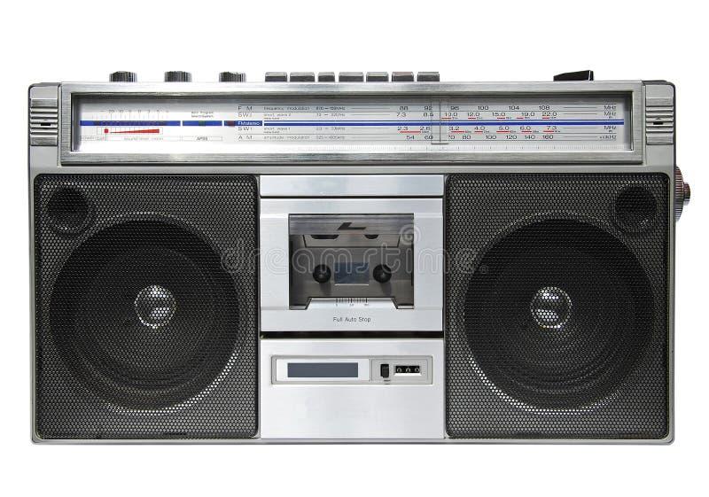 kasety radiowy pisaka rocznik zdjęcie stock