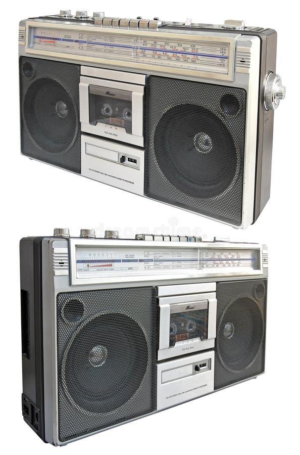 kasety radiowy pisaka rocznik obraz royalty free