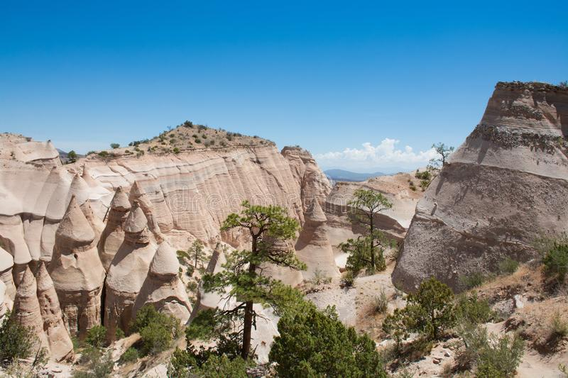 Kasha-Katuwe Tent Rocks National Monument. royalty free stock photos