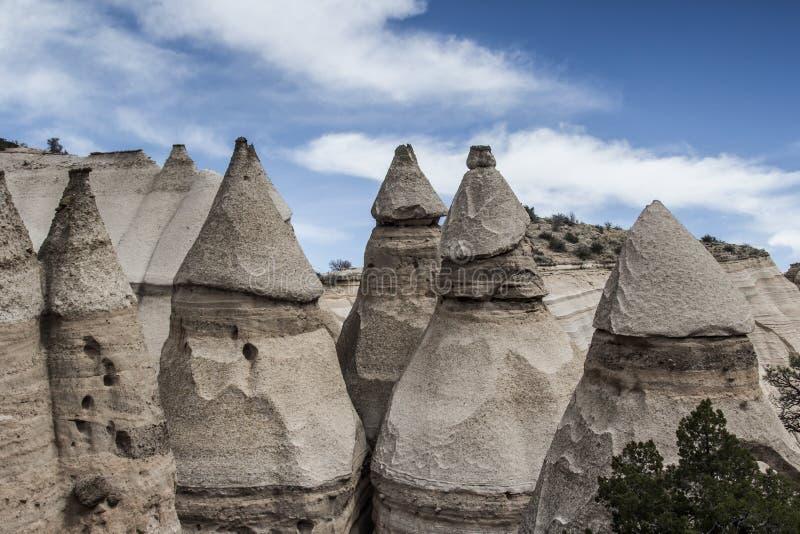 Kasha-Katuwe Tent Rocks National Monument stock images