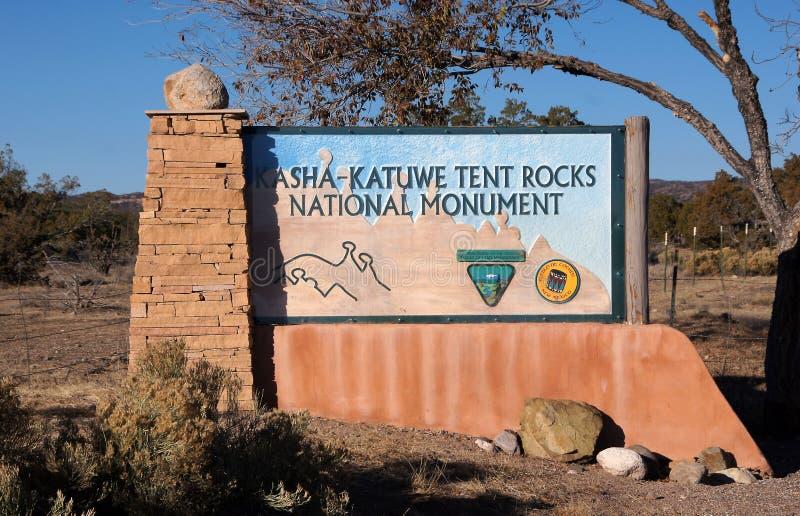 Kasha-Katuwe Tent Rocks National Monument, New Mexico, USA royalty free stock photos