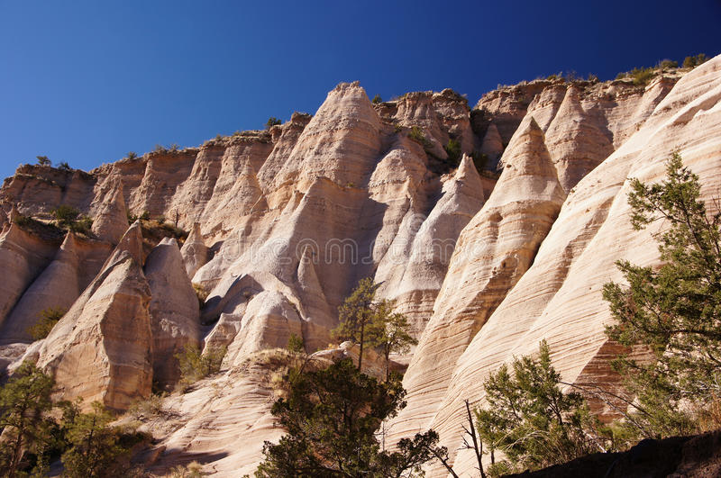 Kasha-Katuwe Tent Rocks National Monument, New Mexico, USA stock photo