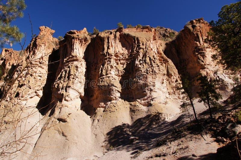 Kasha-Katuwe Tent Rocks National Monument, New Mexico, USA royalty free stock image