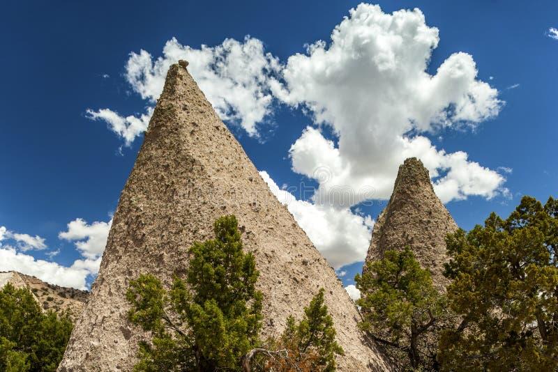 Kasha-Katuwe Tent Rocks National Monument, USA royalty free stock photography
