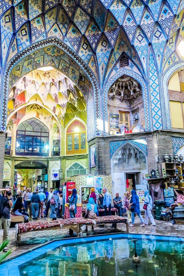 Kashan μεγάλο Bazaar 01 στοκ εικόνες με δικαίωμα ελεύθερης χρήσης