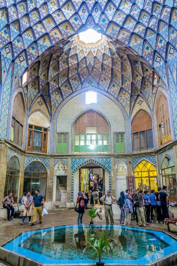 Kashan μεγάλο Bazaar 02 στοκ φωτογραφίες με δικαίωμα ελεύθερης χρήσης