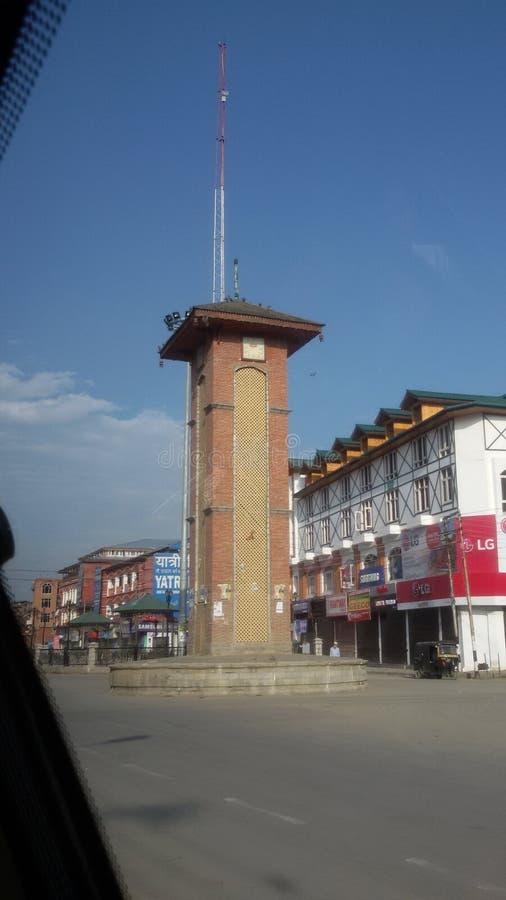 Kashmir torn royaltyfria bilder