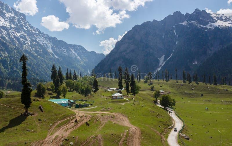 Kashmir Valley, la India imágenes de archivo libres de regalías
