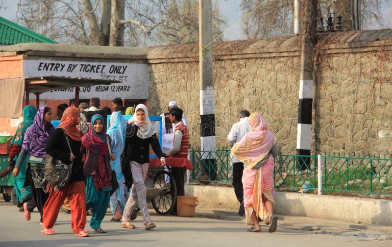 Kashmiri Girls. royalty free stock image