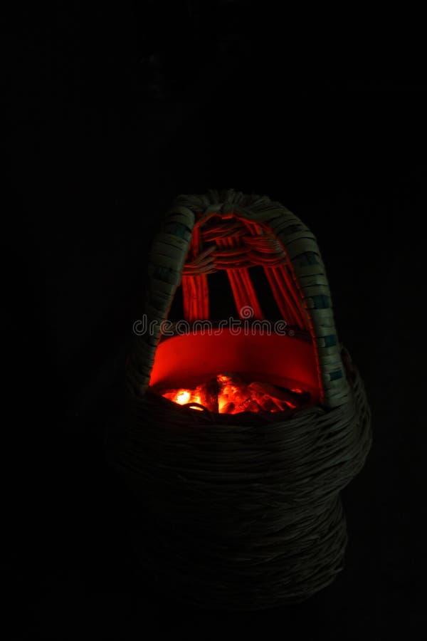 Kashmiri Kangri fotografia stock libera da diritti