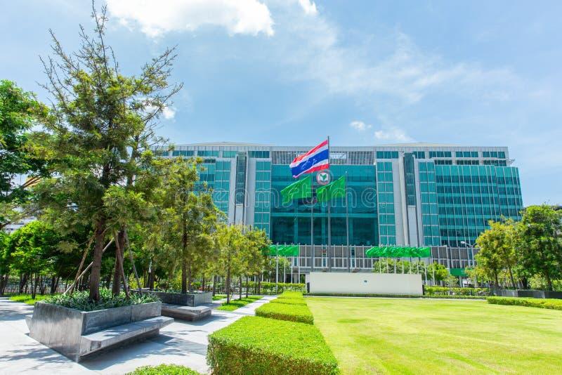 Kasikornbank också som är bekant som den Kasikorn banken eller KBank i Thailand arkivbild