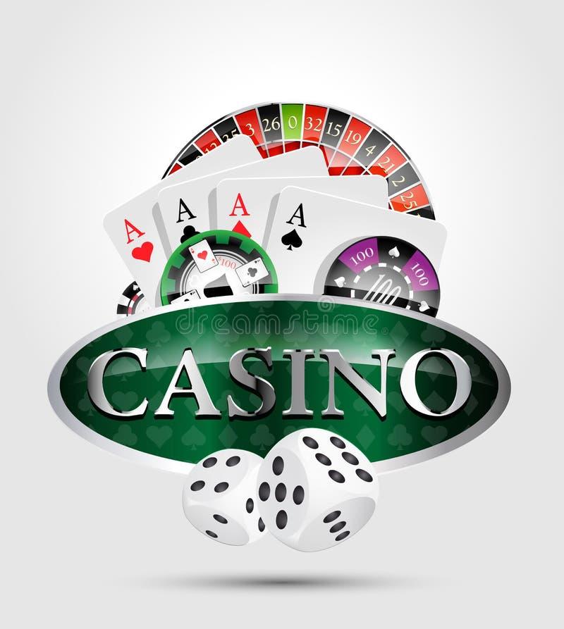 Kasino - aller Kasinospielsieger vektor abbildung
