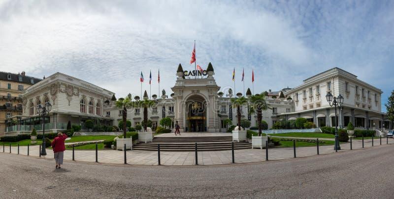Kasino av aixen-Les-Bains fotografering för bildbyråer