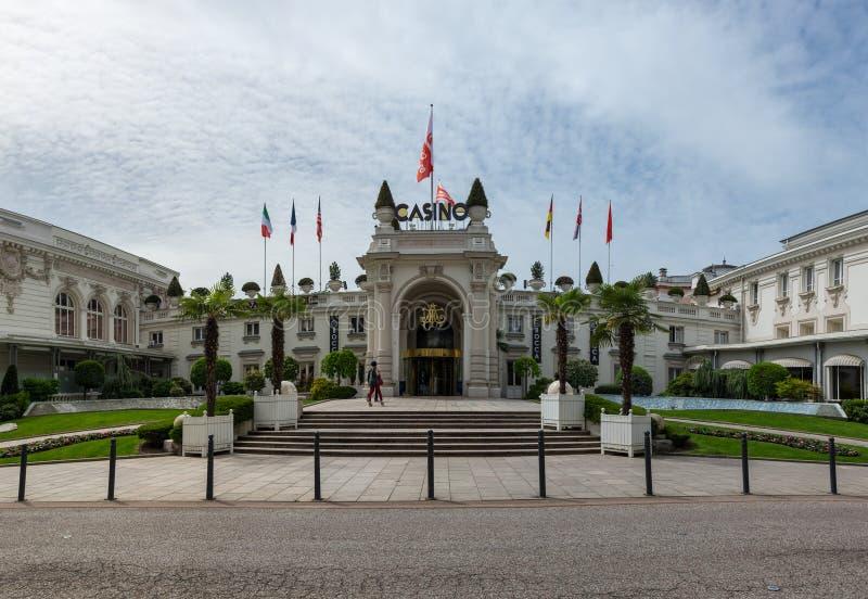 Kasino av aixen-Les-Bains arkivbilder