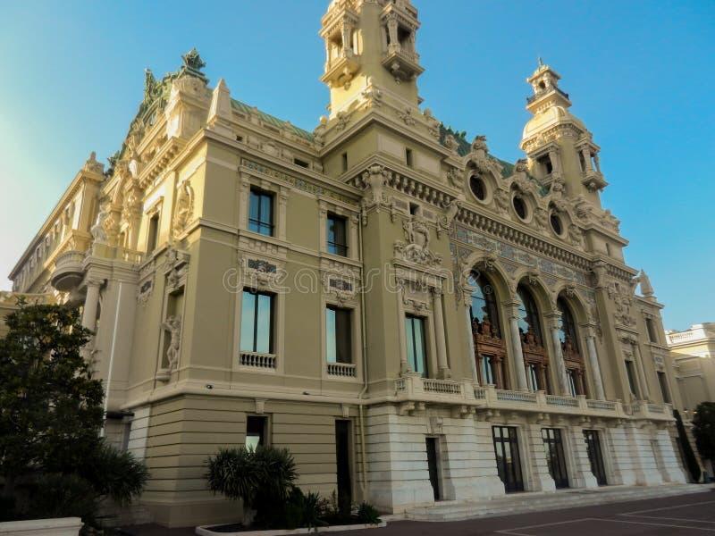 Kasino av Monaco arkivfoton