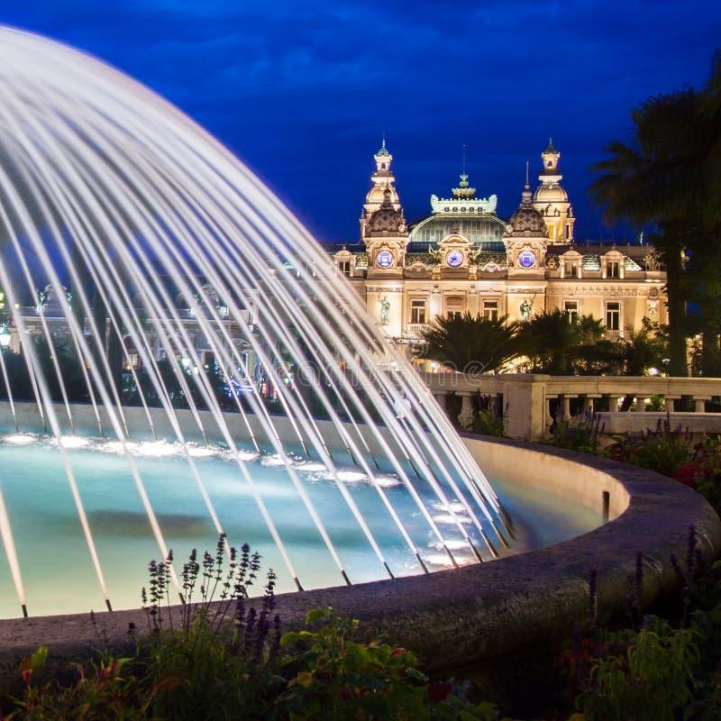 Kasino av Monte Carlo. arkivfoton