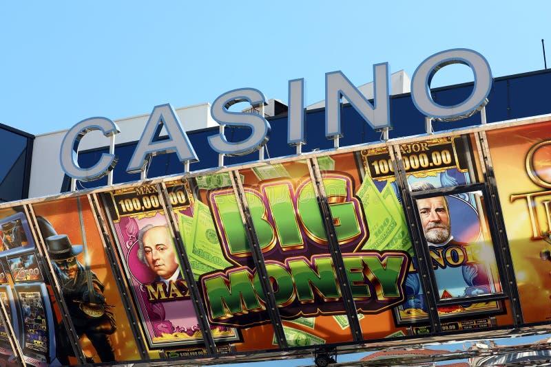 Kasino Barriere Cannes Le Croisette royaltyfri bild