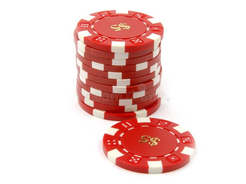 Kasino-Chips stockbilder