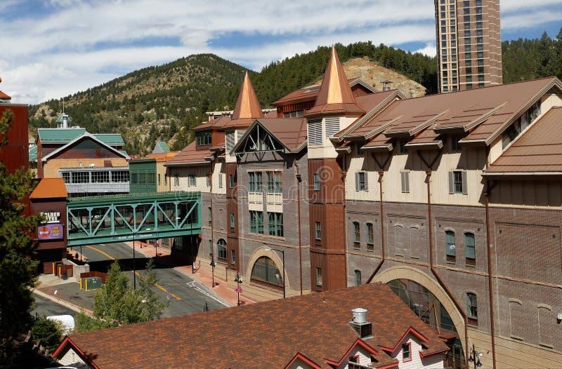 Kasino i den svarta höken, Colorado arkivfoto
