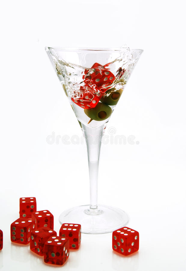 Kasino Martini stockfoto